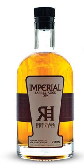 Gin - Roundhouse imperial gin (USA) -