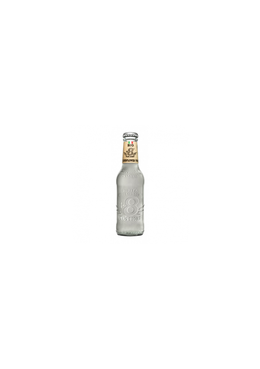 Tonics et Softs - Plus eight  elderflower bio 24x20cl -