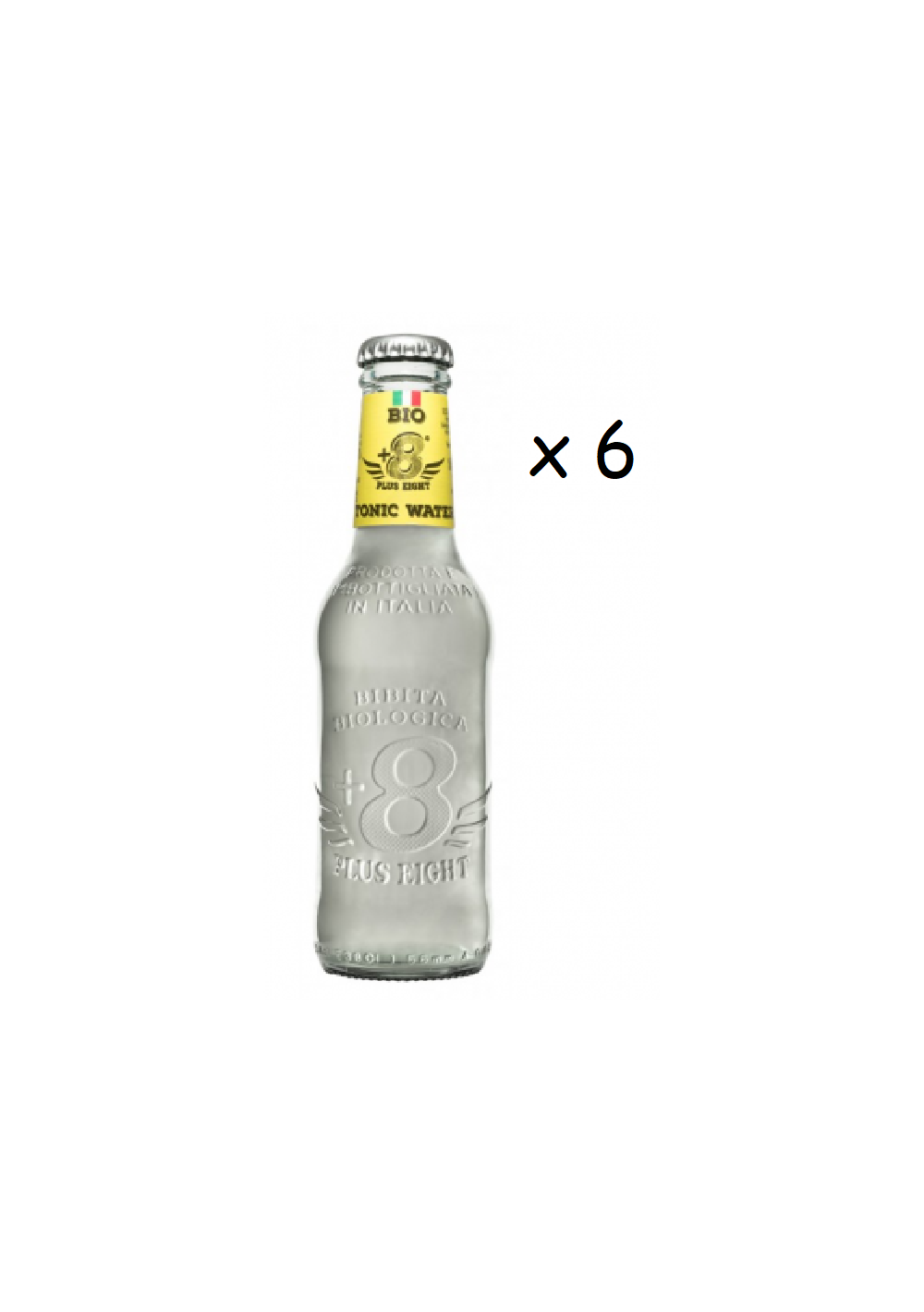Tonics et Softs - Plus eight  tonic water Bio 6x20cl -