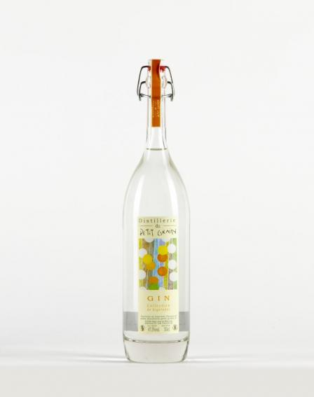 Gin - Distillerie du petit grain - Distillerie du Petit Grain Gin Collection de Bigarades  (France) -
