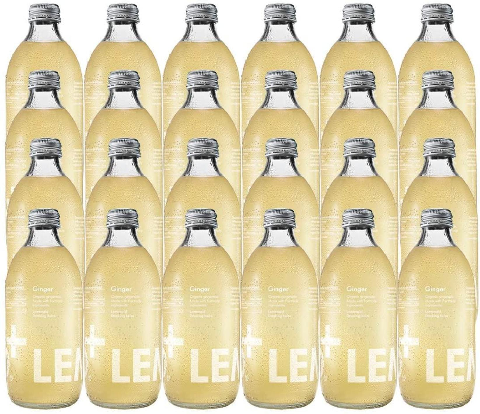 Tonics et Softs - Lemonaid ginger bio 24x33cl -