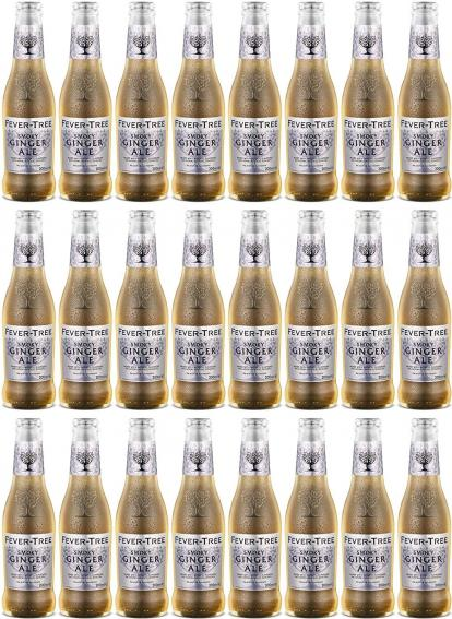 Tonics et Softs - Fever tree smoky ginger 24x20cl -