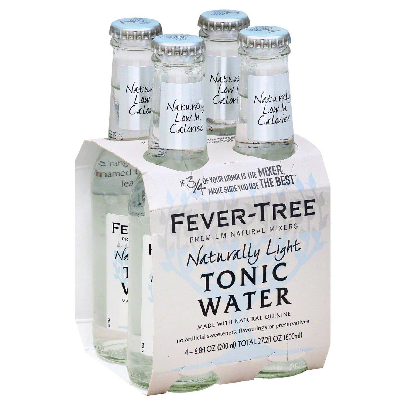 Tonics et Softs - Fever tree naturally light pack 4x20cl -