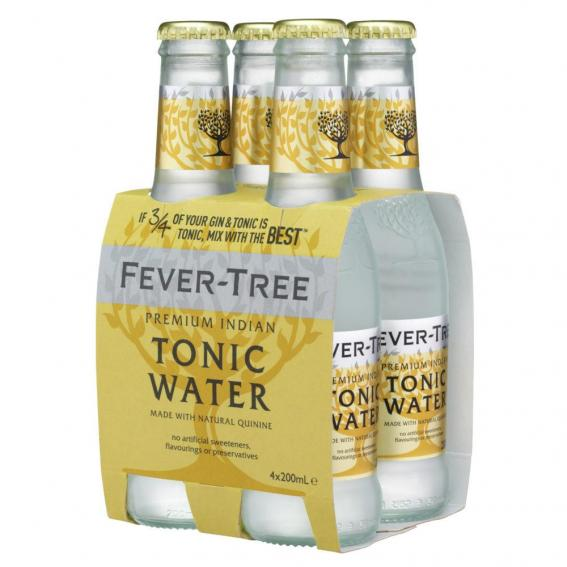 Tonics et Softs - Fever tree indian tonic pack 4x20cl -