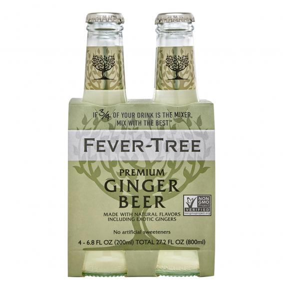 Tonics et Softs - Fever tree ginger beer pack 4x20 -