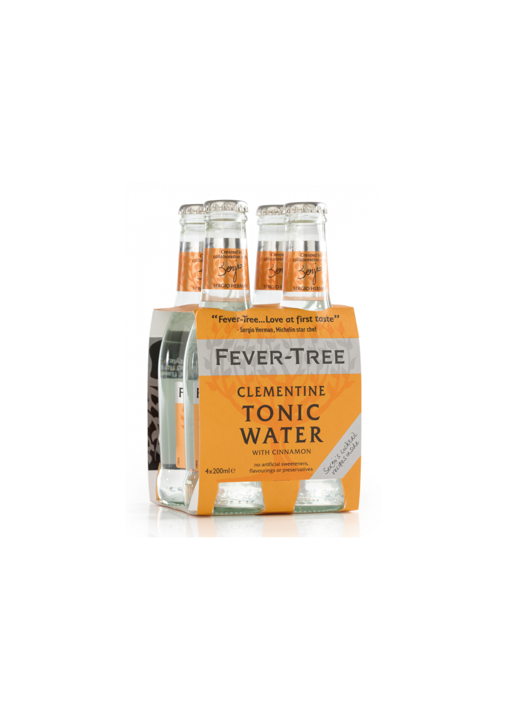 Tonics et Softs - Fever tree clementine-Canelle pack 4x20cl -