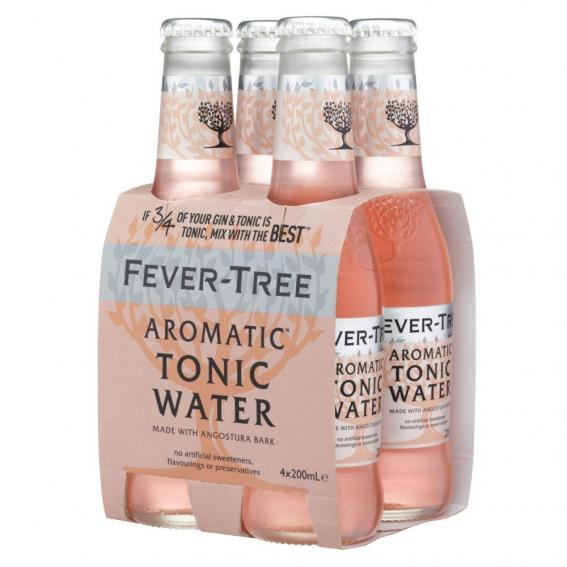 Tonics et Softs - Fever tree aromatic pack 4x20cl -